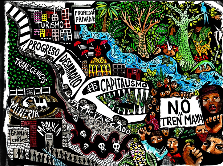 Not every train is good – Why we have to say  «NO to the Maya train»